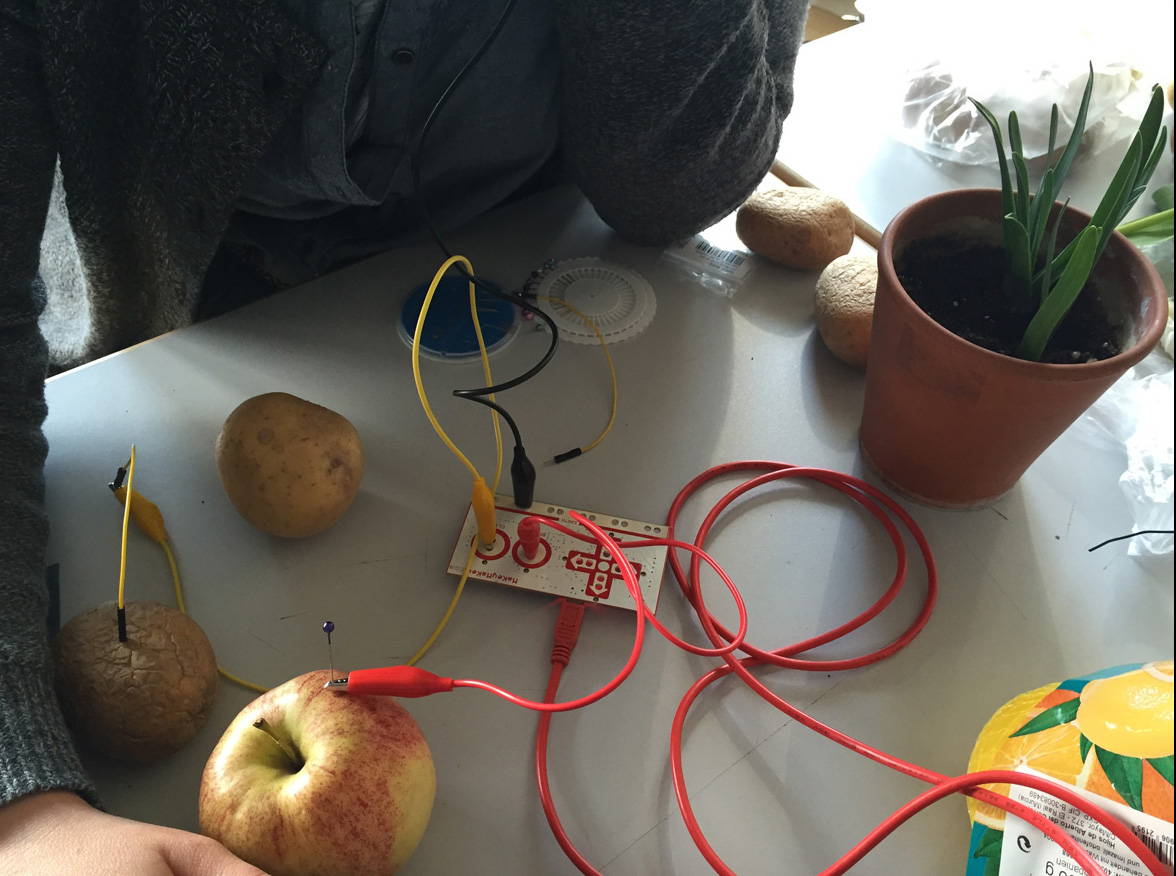 MakeyMakey Apple Interface