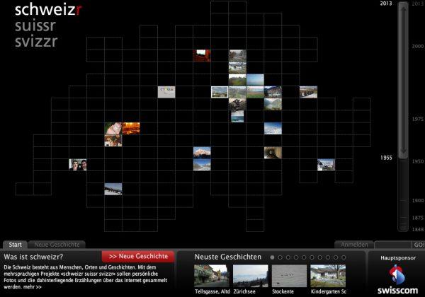 Schweizr.ch Startscreen