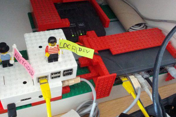 LocalDev Servers within Lego Brick System